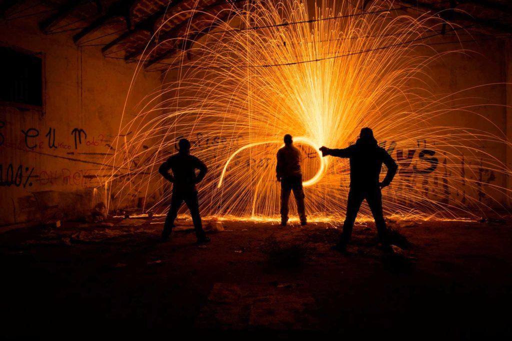 Fotografia-Nocturna--Echando-Chispas