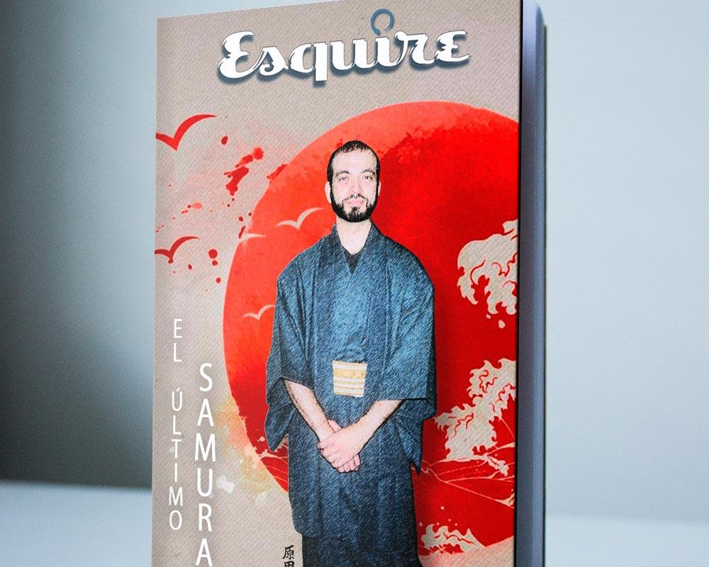 Portada libro el Ultimo Samurai