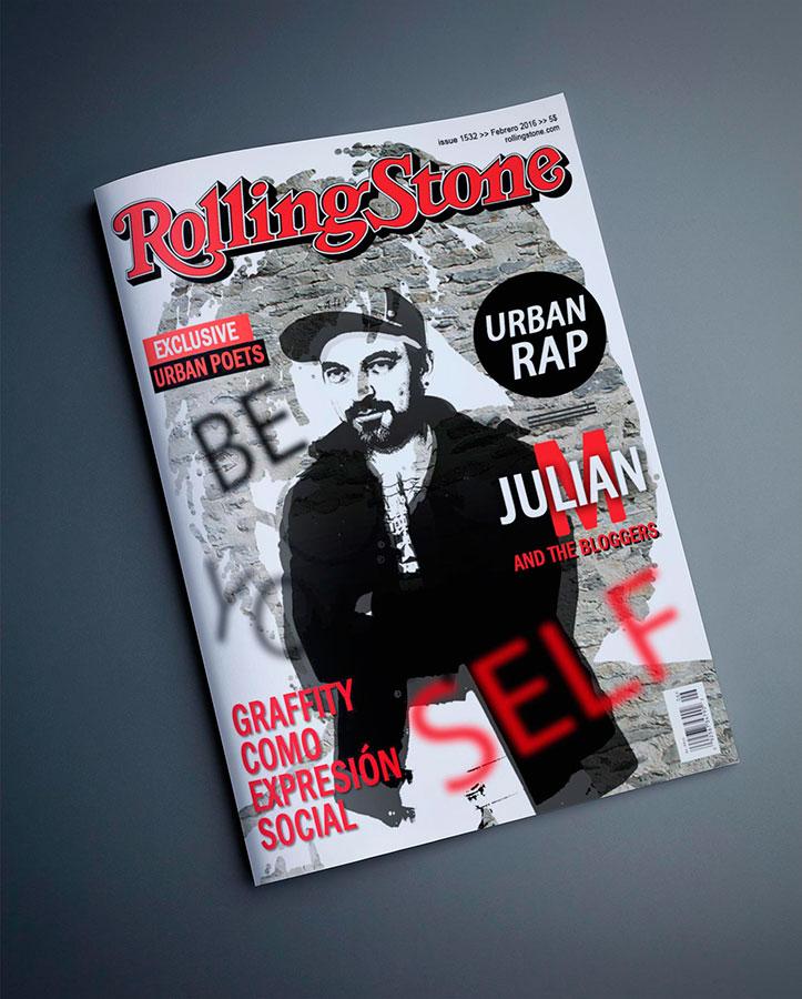 Diseño Editorial Zaragoza portada de revista simulada
