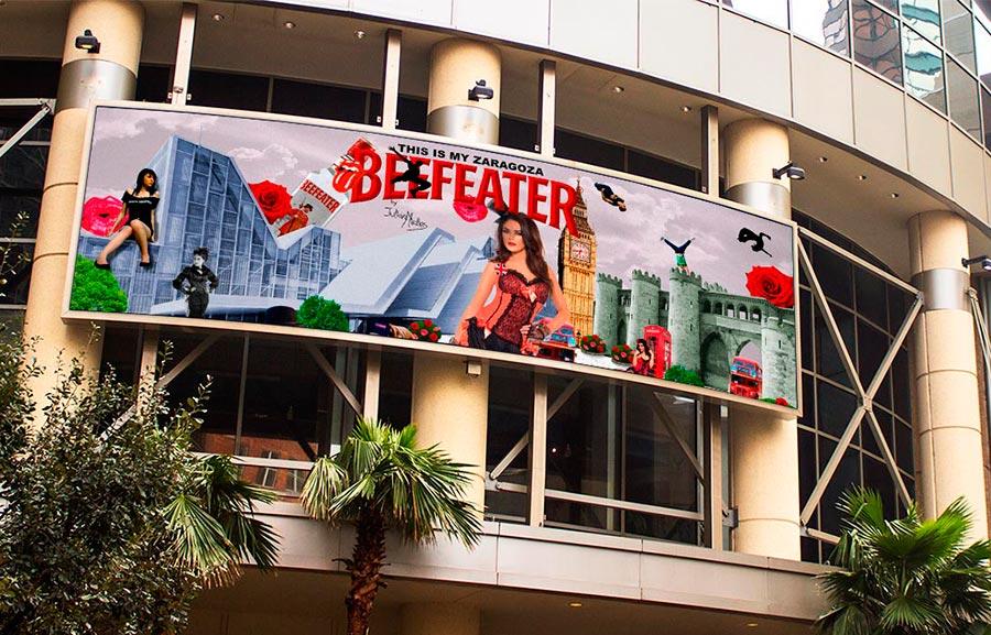 Diseño Gráfico Publicitario Zaragoza Valla en centro comercial