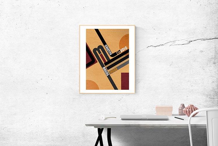 Diseño Gráfico Publicitario Zaragoza cartel corporativo