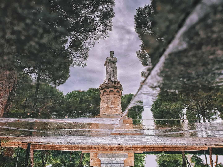 Fotografia para Redes Sociales-Reflejo-Batallador Zaragoza
