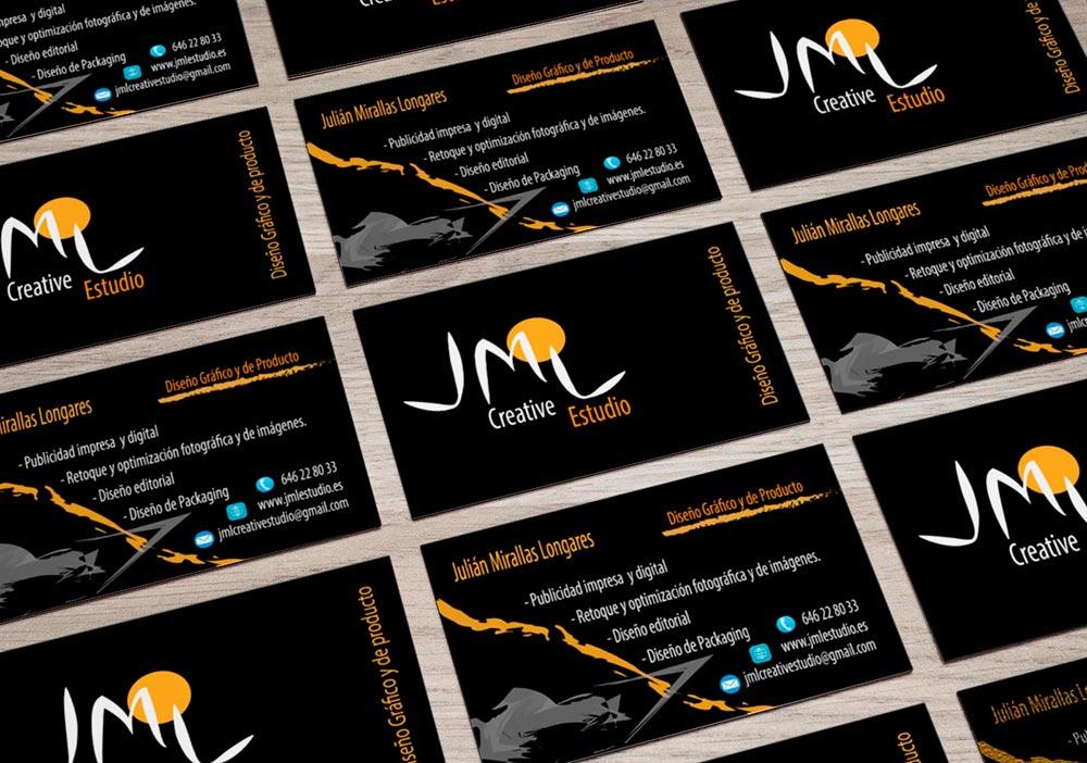 Identidad Corporativa JML Creative Estudio-Malla Tarjetas