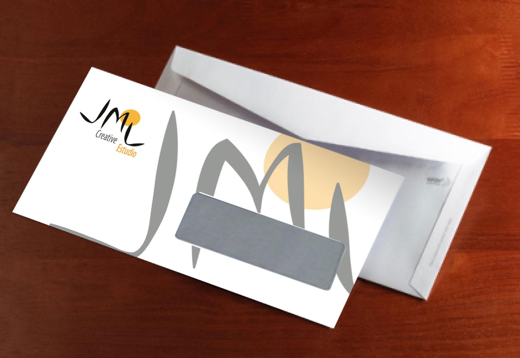 Identidad Corporativa JML Creative Estudio-Sobres Corporativos