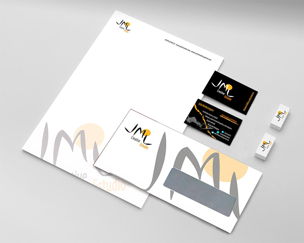 Identidad Corporativa de JML Creative Estudio