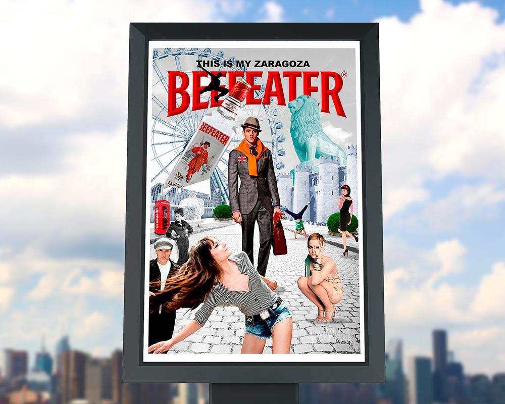 Campaña Publicitaria Beefeater en Mi Ciudad