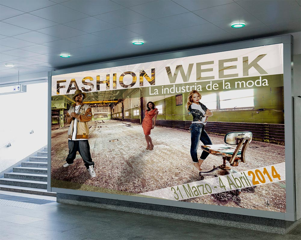 Valla Publicitaria FASHION WEEK