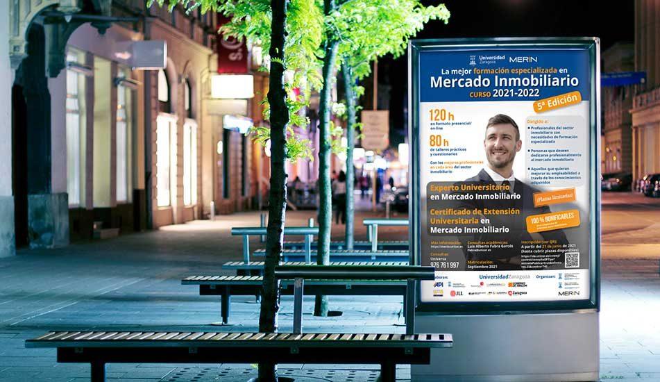 Diseño Gráfico Publicitario-MUPI Master Mercado Inmobiliario-MERIN