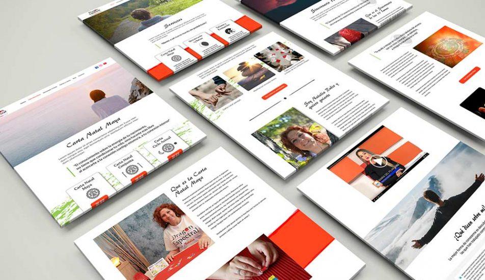 Portfolio-Diseño Web-Layout Natalia Dragón Espectral