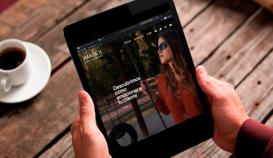 Portfolio-Diseño Web-Producciones Imagek